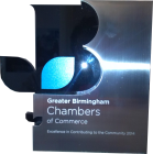 Greater Birmingham Chambers of Commerce Award