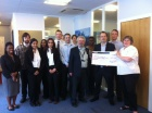 Prostate Cancer UK Cheque Presentation