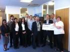 Prostate Cancer UK Cheque Presentation